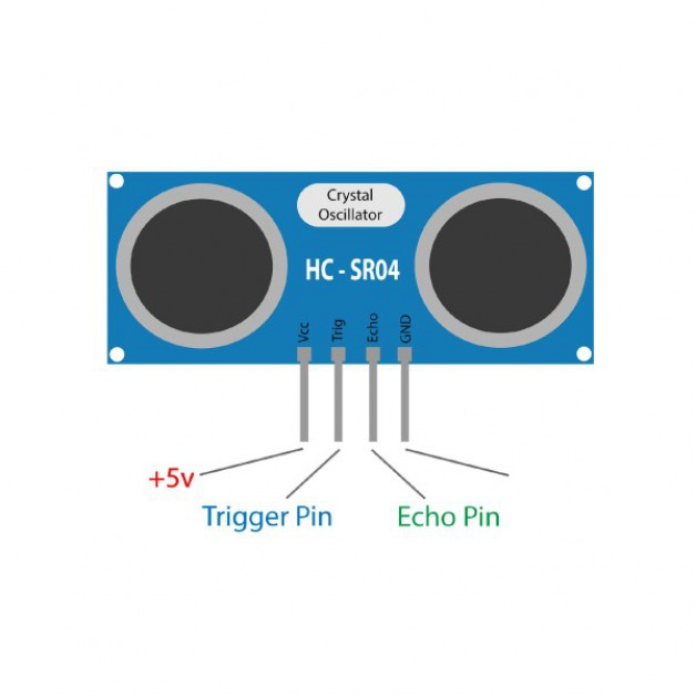 Arduino Ultrasonic Sensor HC-SR04