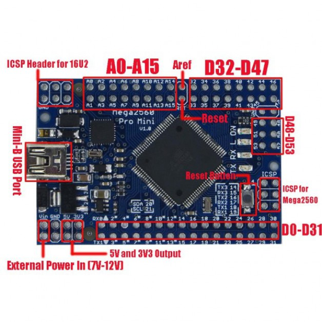Arduino Mega 2560 Pro