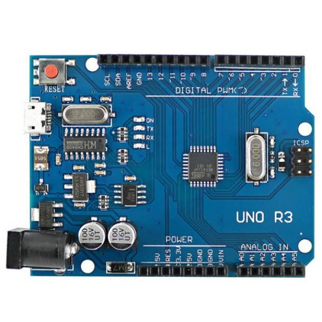 Arduino UNO R3 micro USB (Compatible)