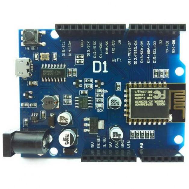 WeMos D1 (Arduino UNO + WiFi)