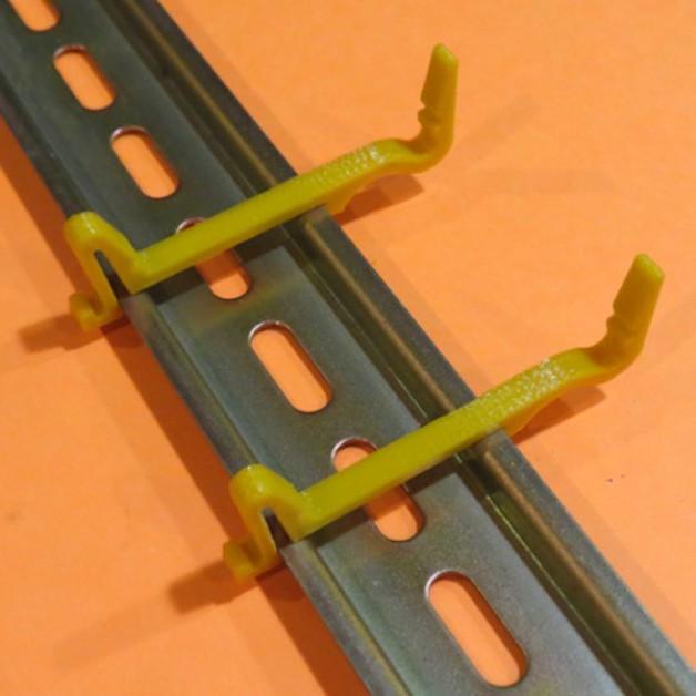 Dinrail holder / strap for Arduino UNO (R3)