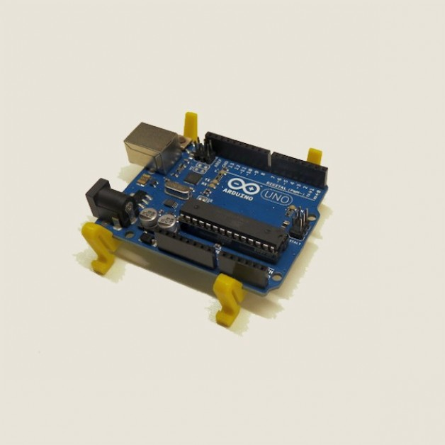 Dinrail holder / strap for Arduino UNO (R3)