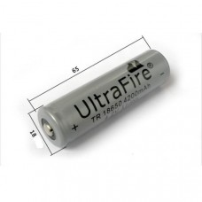 UltraFire 18650 battery 4200mAh