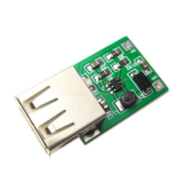 DC-DC boost converter (5V out)