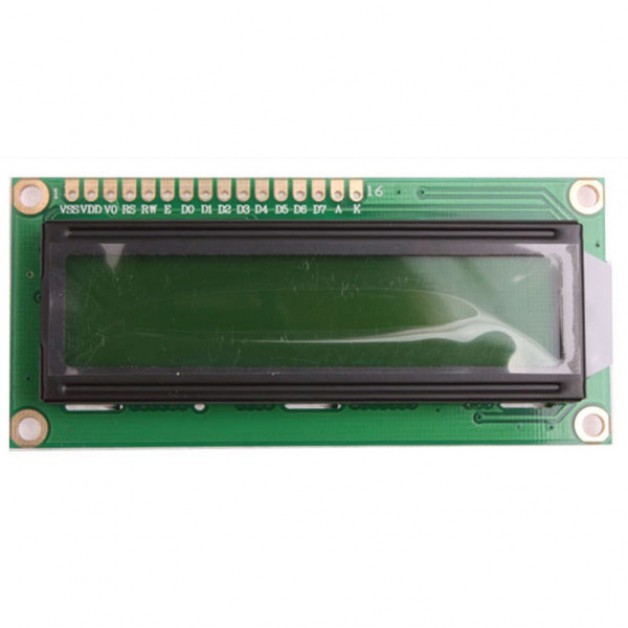 LCD Module 16x2 with Backlight (green)