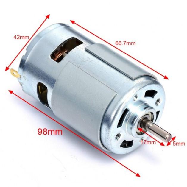 12V DC CNC Motor 10.000 RPM