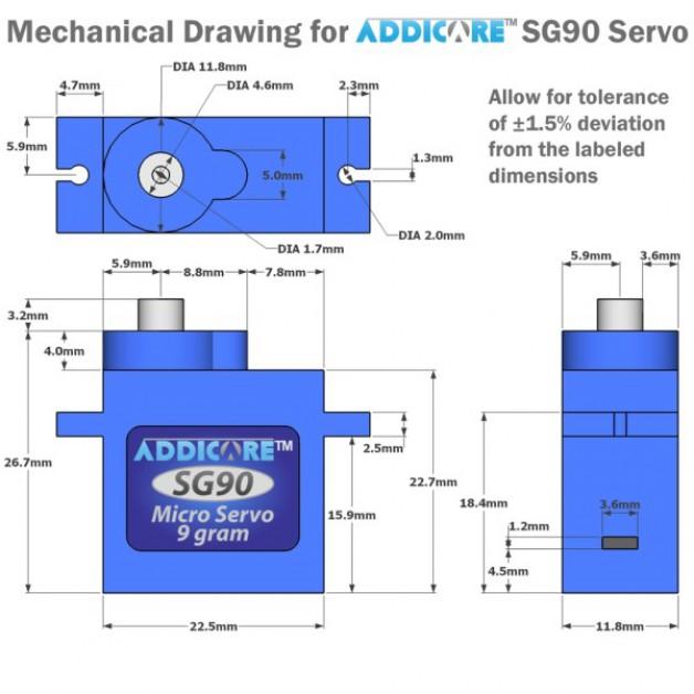 Servo Motor (Tower Pro SG90)