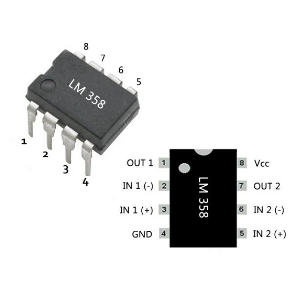 LM358 OpAmp