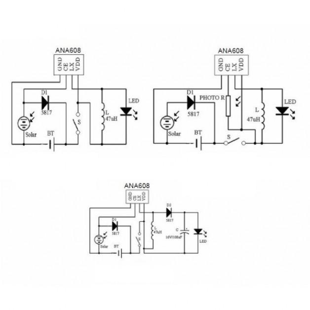 ANA608 Solar Lawn Controller