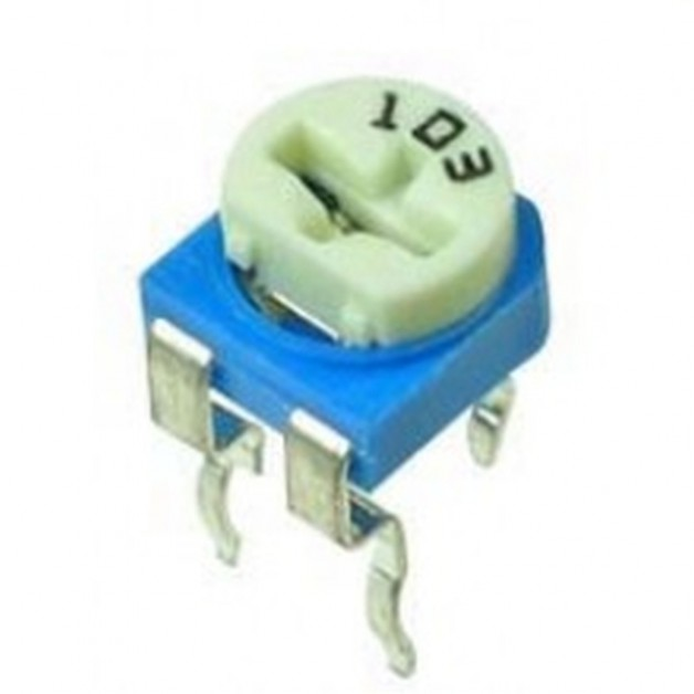 100Ω (singleturn) trimmer potentiometer