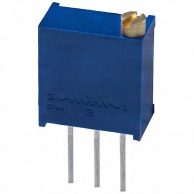 50KΩ (25 turn) trimmer potentiometer