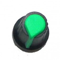 Knob for single turn Potentiometer (Green)