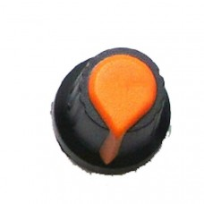 Knob for single turn Potentiometer (Orange)