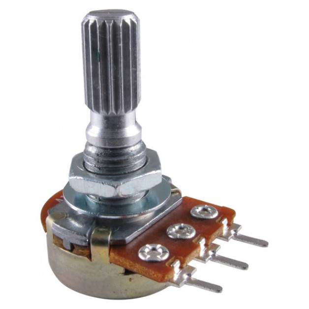 500KΩ (singleturn) trimmer potentiometer