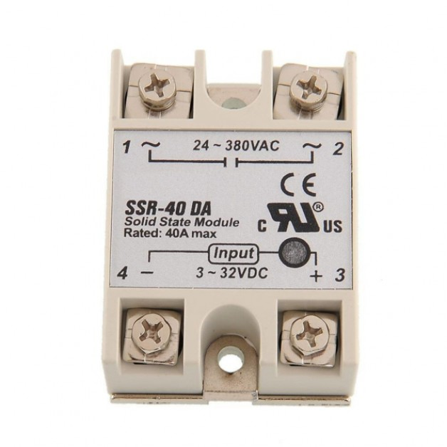 SSR (Solid State Relay) DC / AC 40A