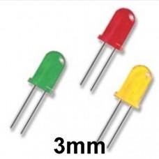3mm LEDs