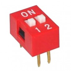 Dip Switch 2P (red)