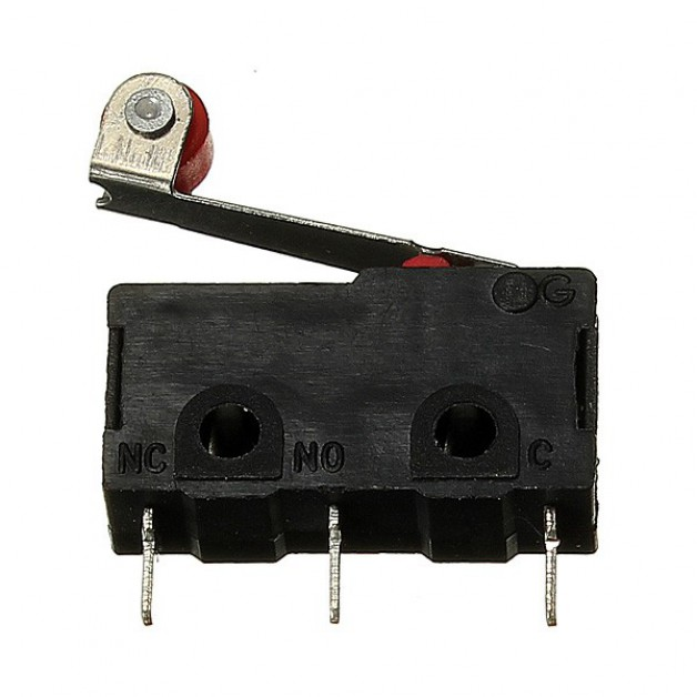 Micro (limit) switch with roller lever