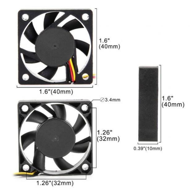 40x40x10 Fan (3P)