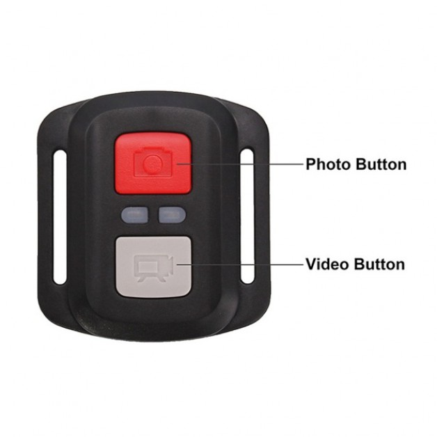 Action Camera Waterproof 4K + WiFi + Remote Control