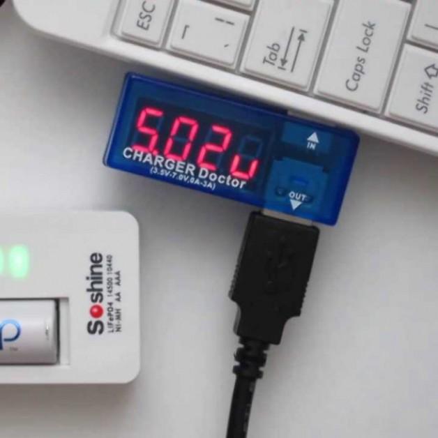 USB Volt & Ampmeter Meter