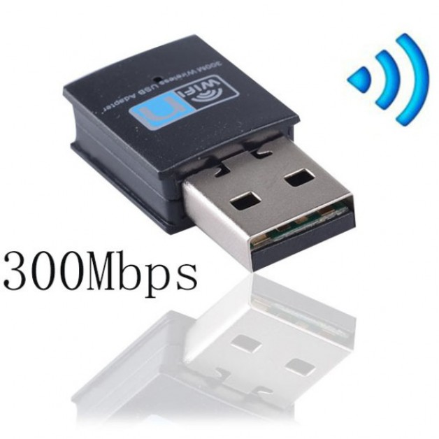 USB Wifi dongle (300Mbps) - Full Duplex