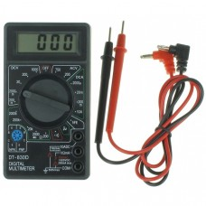 Simple Cheap Mulitimeter (DMM) Black