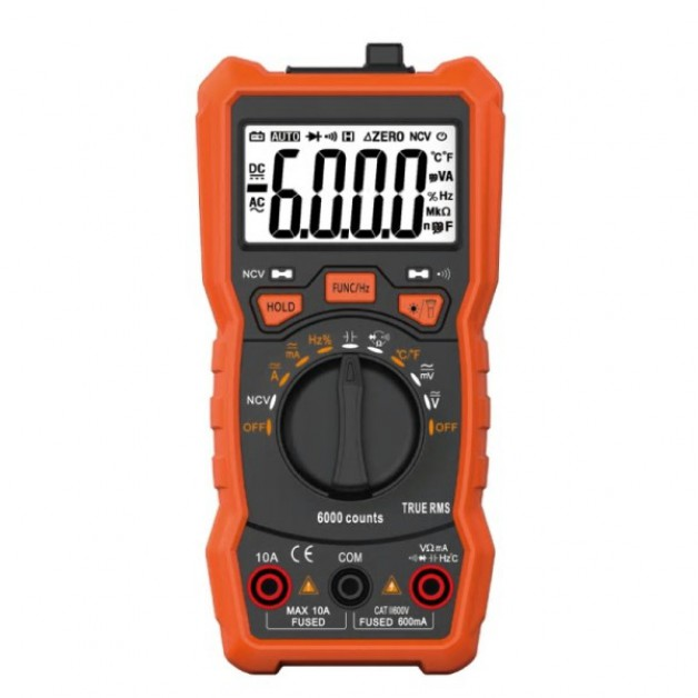 Multimeter (DMM) Autorange, Frequency, Temperature