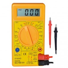 Simple Cheap Mulitimeter (DMM) Yellow