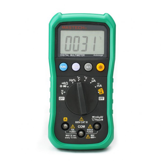 Professional Multimeter (DMM) Autorange, Frequency, Temperature