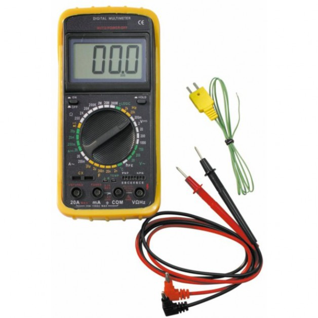 Mulitimeter (DMM) with Frequency and Temperature measurement