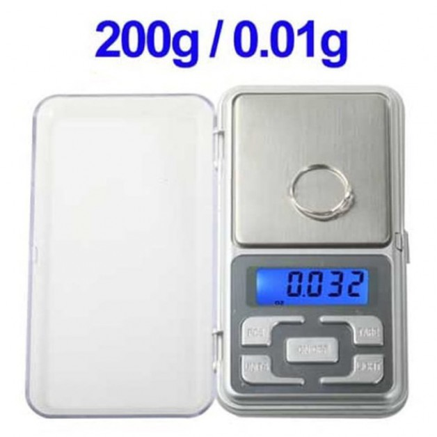 Digital Precision Scale - 200gr / 0.01gr precision