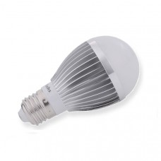 6 Watt warm white light (silver)