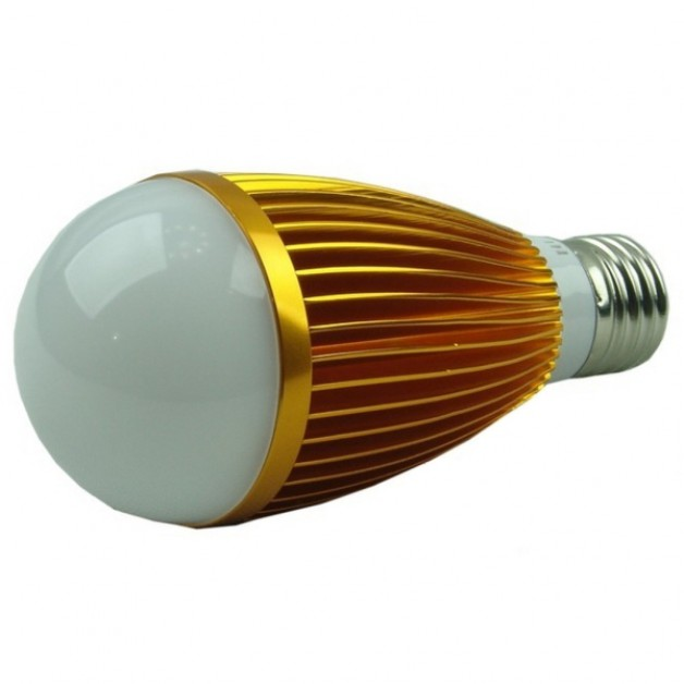 7 Watt warm white light (gold)