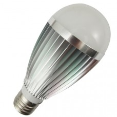7 Watt warm white light (silver)
