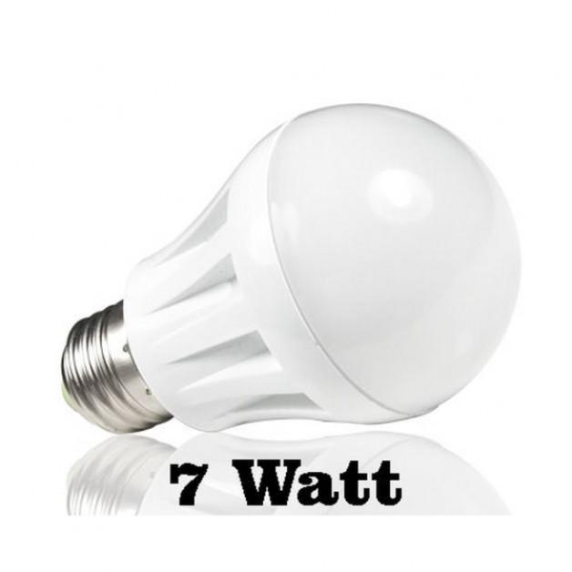 7 Watt warm white light (white)