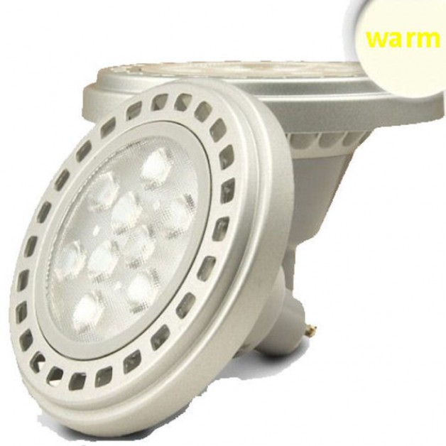 10 Watt 111mm GU10 Outdoor Spotlight