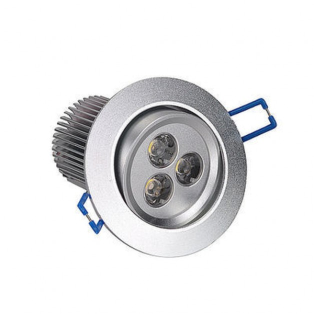 9 Watt Dimmable warm white recessed spotlight