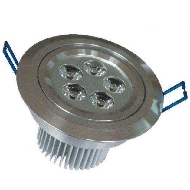 5 Watt warm white recessed spotlight
