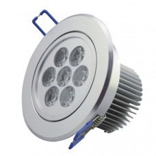 7 Watt warm white recessed spotlight