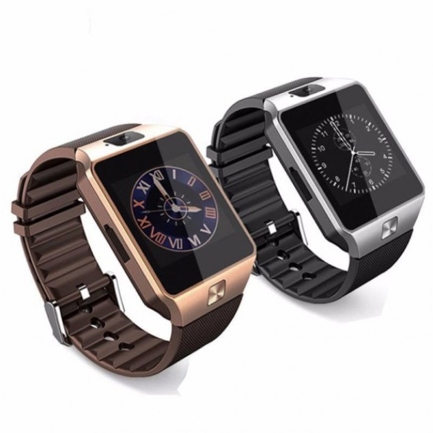 Smart Watch (smartwatch) - Coffee Brown