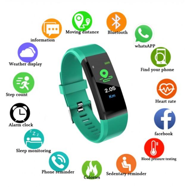 Smartwatch / Smartband (green)