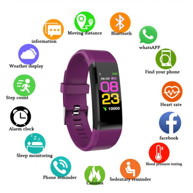 Smartwatch / Smartband (purple)
