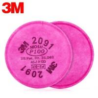 3M 2091 P100 Filter set