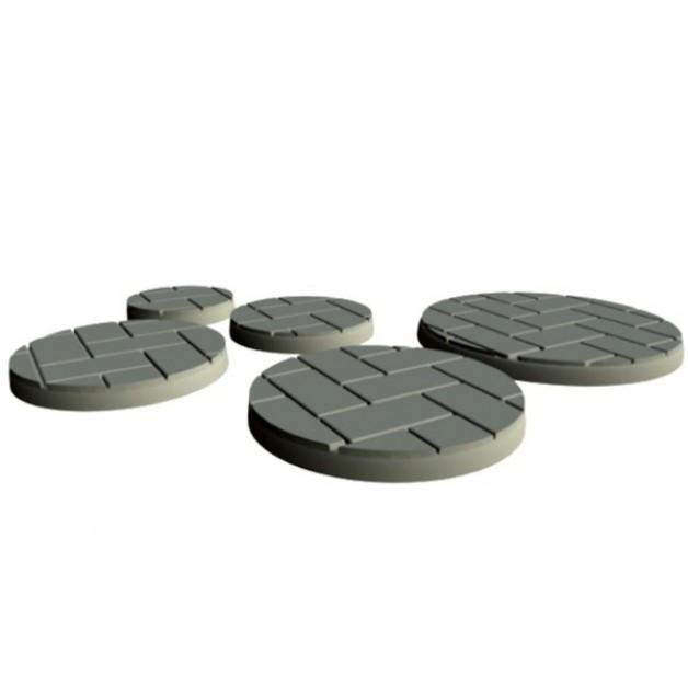 Flagstone Baseplate 40mm