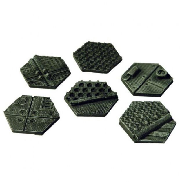 Hexagon 30mm Base Plate set