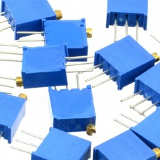 25 turn precision potentiometer package